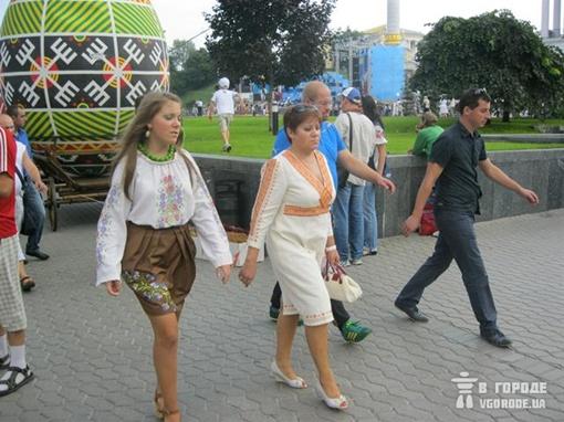Настоящие украиночки Фото: Игорь Кулик