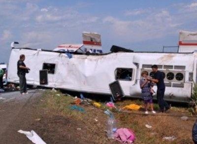 Водитель не справился с управлением. Фото с сайта reporterntv.ro
