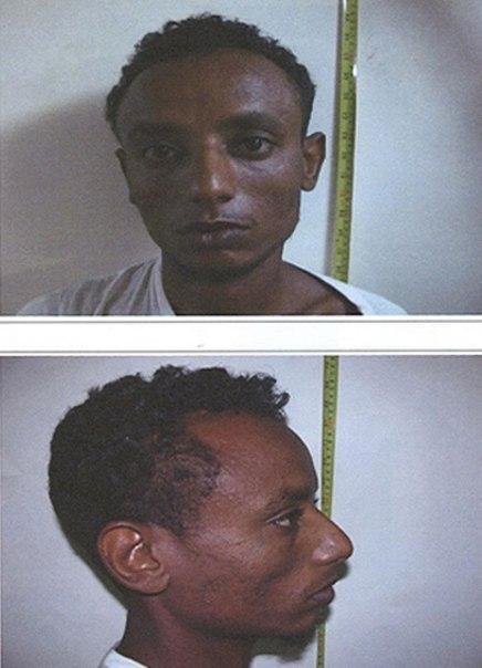 Африканский беглец Фото: Пресс-центр Госпогранслужбы.
