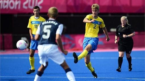 Украинские футболисты. Фото с сайта london2012.com