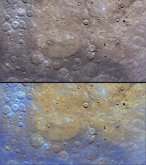 Этот снимок демонстрирует отличительные особенности северных равнин и окружающей их территории. Фото НАСА