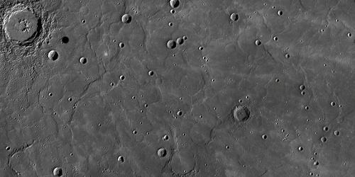 Район гладких вулканических равнин. Фото НАСА