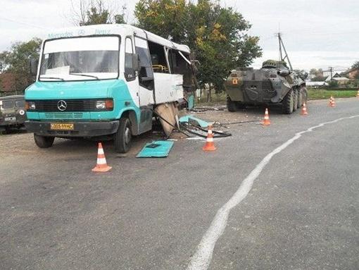 В аварии пострадали 4 человека.  Фото: пресс-служба УГАИ УМВД Украины в Черновицкой области