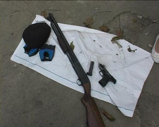 Изъятое оружие эксперты признали боевым. Фото предоставлено пресс-службой ГУ МВД У краины в Запорожской области