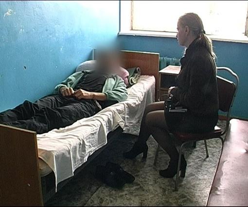 Гражданин Сирии сейчас в тяжелом состоянии. Фото ЦОС ГУ МВД в Полтавской области