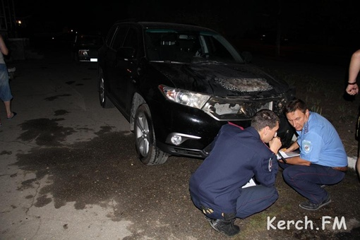 Милиция ищет виновных в поджоге. Фото: kerch.fm