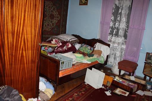 Комната Ярослава Мазурка, где он жил с семьей