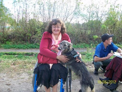 Сейчас волонтеры ищут для двух щенков таких же хороших хозяев, как Светлана. Фото предоставлено Светланой Цыганковой