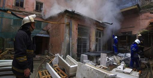 Возгорание произошло из-за короткого замыкания Фото Алексей Кравцова