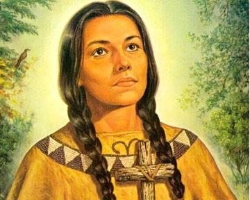Катери Текаквита из племени мохавк умерла более 300 лет назад, однако верующие утверждают, что она продолжает творить чудеса. Фото catholichurch.ru
