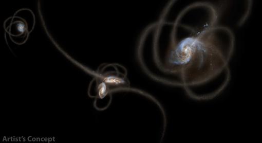 Эти изолированные одинокие звезды сейчас парят в космическом пространстве. Фото НАСА