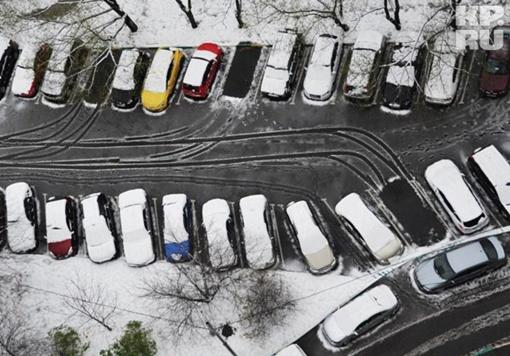 В Москве выпал снежок... Фото: