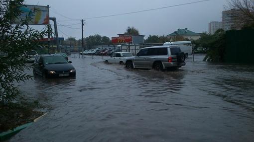 Потоп на улице Вильямса. Фото из соцсетей
