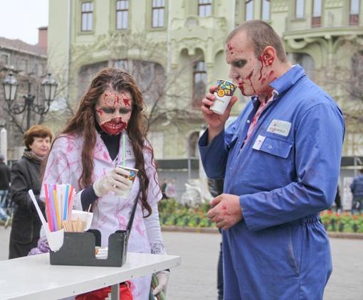 Зомби тоже хотят выпить кофе