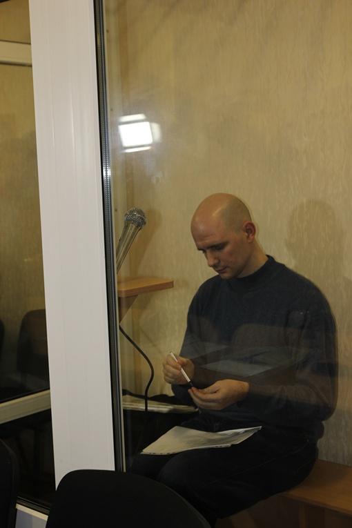 На скамье подсудимых во время предварительных слушаний находился только Виктор Сукачев. Фото Евгении РУДНИЦКОЙ