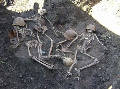 Раскопки проводили летом на Волыни. Фото регионального медиа-центра МО Украины.