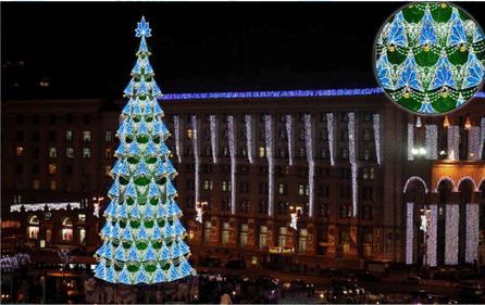В этом году елка будет полностью другой. Фото авторов проекта
