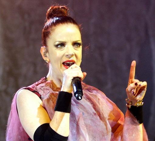 Ширли Мэнсон, вокалистка Garbage. Фото Павла ДАЦКОВСКОГО