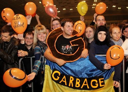 Самые яркие слушатели Garbage. Фото Павла ДАЦКОВСКОГО