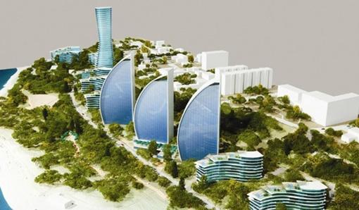 Половину склонов архитектор предлагает отдать инвесторам под строительство жилых домов.