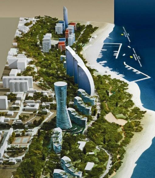 Согласно концепции Глазырина, каждый парк займет территорию свыше 30 га.
