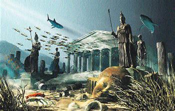 Так могли бы выглядеть города загадочного затонувшего континента.