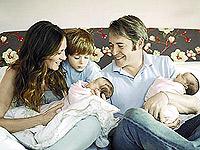 Сара Джессика с мужем и детьми.