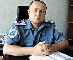 Майора Ивана Суходольского назначили начальником Марганецкого РОВД всего за две недели до конфликта. Только благодаря действиям милиции удалось избежать погромов...