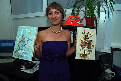 Картины Георгия Кожокаря теперь украшают запорожскую редакцию Комсомолки