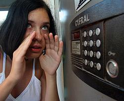 - Ау! Откройте двери - домой хочу! Фото Максима ЛЮКОВА