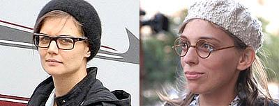Их Кэти и наша Катя: в новом образе жена Тома Круза сильно напоминает главную героиню сериала