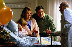 С любой болезнью справиться проще,когда рядом любящие родители и заботливые доктора.