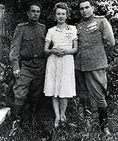 19 июня 1945 г. Светлана и Николай Щелоковы.
