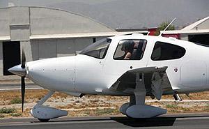 И уверенно подняла самолет в воздух. Фото: radaronline.com.