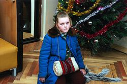 В фильме Лена мастерски сыграла роль сироты.