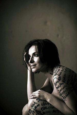 Рифмы певица фиксировала не только на бумаге... Фото: фото из книги Нади Гарновской.