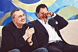 Константин и Валерий: с улыбкой и песней вместе по жизни.