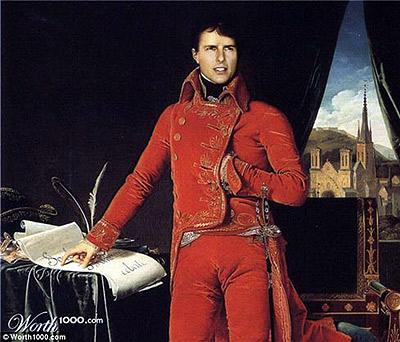 Том Круз в образе Наполеона.