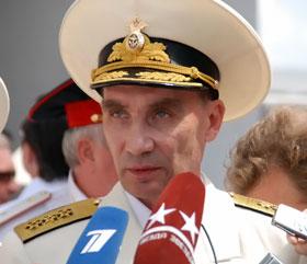 Адмирал Владимир Высоцкий.