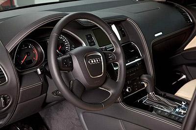 Строгий интерьер. Фото Audi.