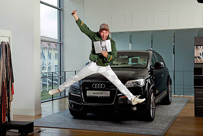 Счастью нет предела! Фото Audi.