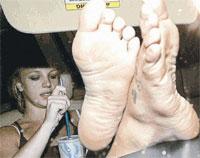 Бритни Спирс – девушка без комплексов.