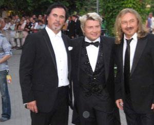 «Трио теноров»: Валерий Меладзе, Николай Басков и Игорь Николаев.