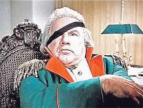 Комическому актеру Игорю Ильинскому роль великого полководца досталась с боем.