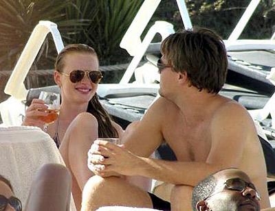 Забыв об экс-подруге Бар Рафаэли, Лео отдыхает на Ибице с Аней. Фото: celebrity-gossip.net.