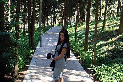 Оксана эти фотографии выложила на одном из сайтов два месяца назад.
