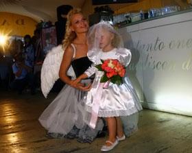 Ольга Фреймут и ее дочка Злата вызвали симпатию всех присутствующих.