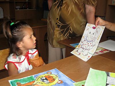 «Це киця», – говорит 5-летняя девочка, увидев слона.