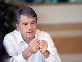 Президент подозревает, что полтавский мэр недостаточно любит гетмана Мазепу.
