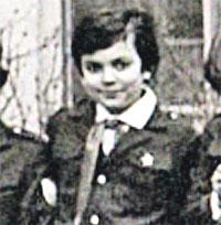 Юный пионер Филипп.